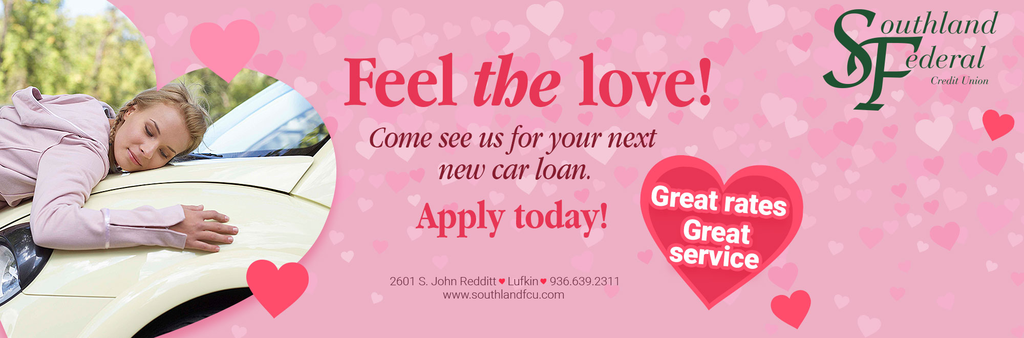 Feel the Love - Apply Today!