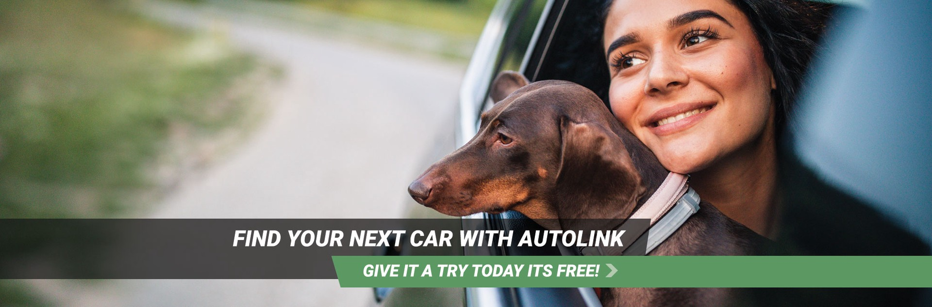 Find your next car with AutoLink. Give it a try. It's free.